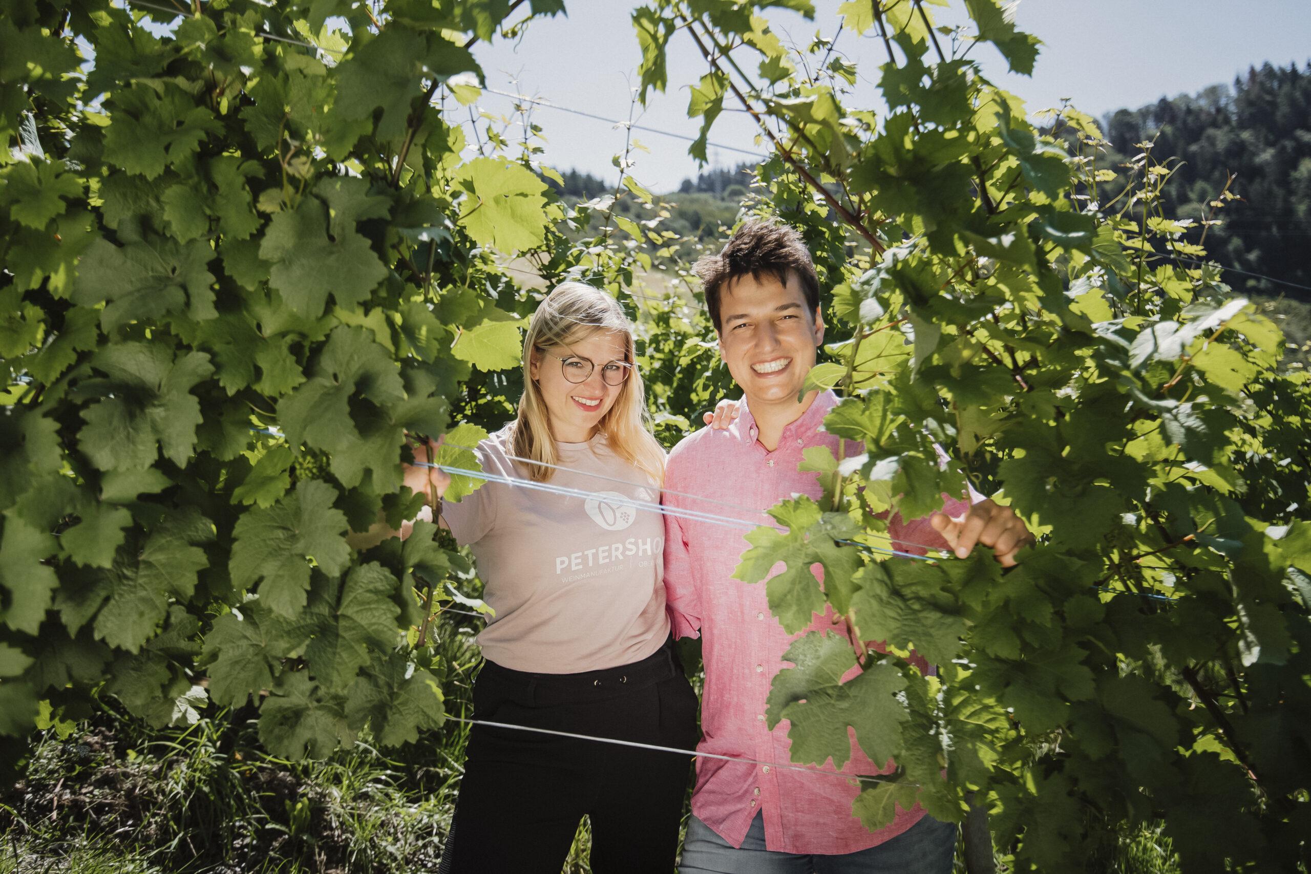 Weinmanufaktur Petershof (Nelly Theobald und Peter Thelen) fotografiert am 18.07.2021 in Oberemmel.